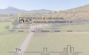 bcad0e15db3f49 JD SA promotions immobilières   Une création web CHOCOWEB