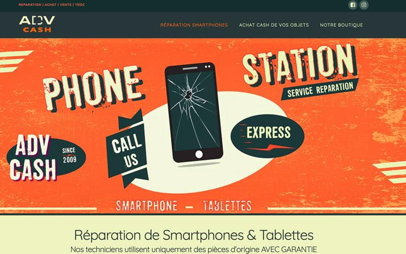 ADV Cash réparation smartphones à Bulle