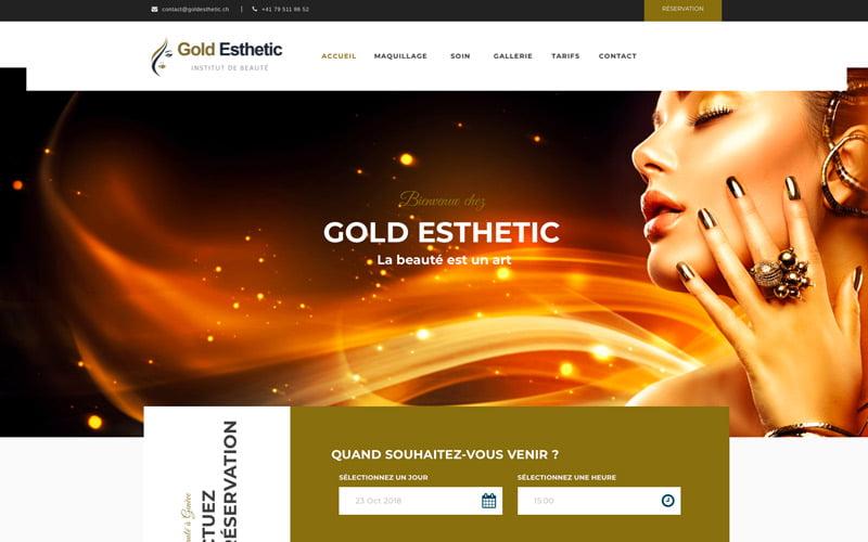 gold esthetic institut de beauté