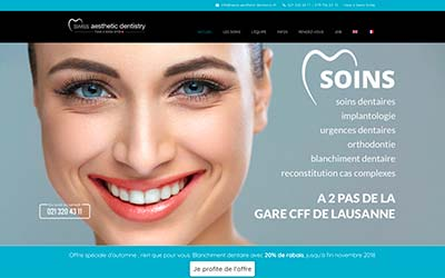dentiste-lausanne_creation_web_chocoweb