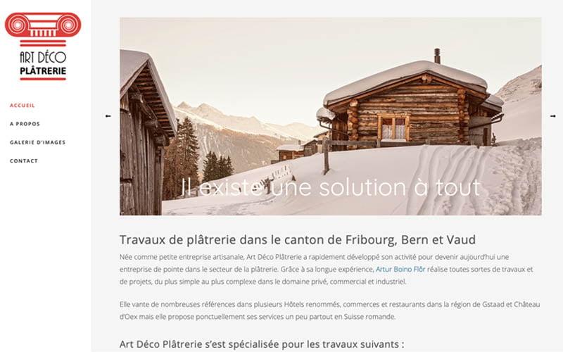 Art Déco Plâtrerie site web