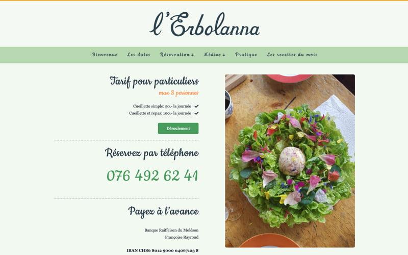site web L'Erbolanna