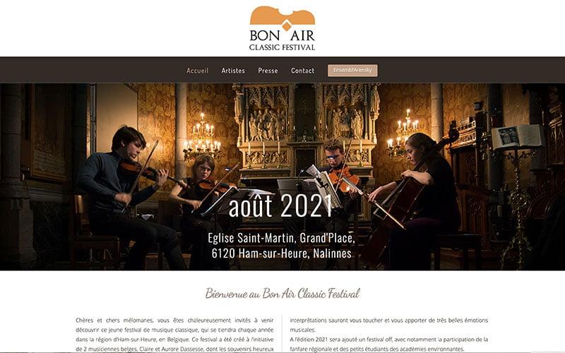 Bon Air Classic Festival Belgique