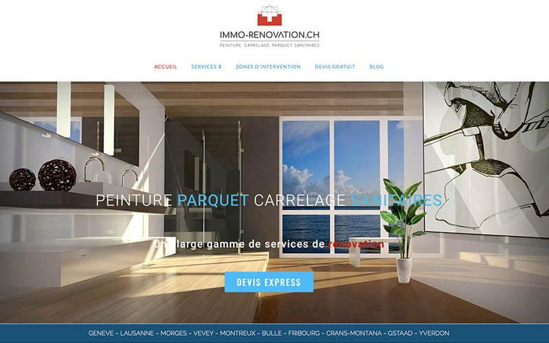 Création web Immo Rénovation