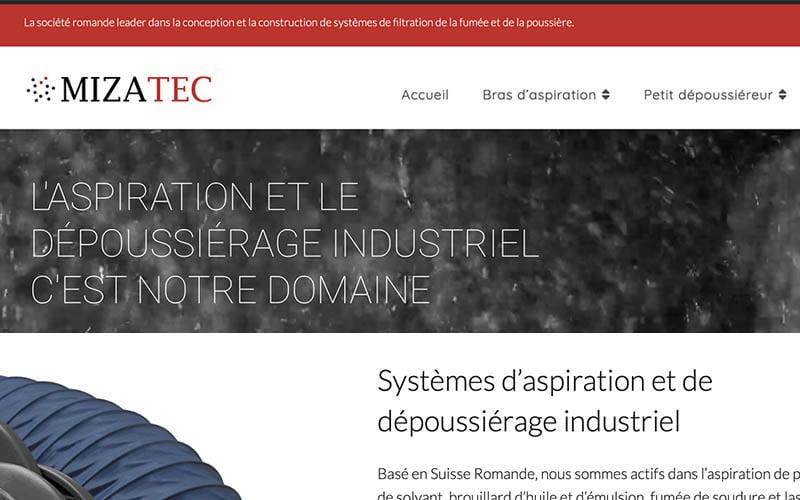 Création web Mizatec