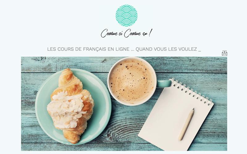 Cours de français online